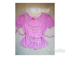Блузки розовая и белая 42 р-р