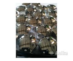 Декоративные хромированные колпачки на болты 17м