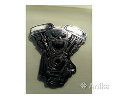 Значок для байкера Хранитель Двигателя металл