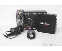 Смарт тв MXQ Pro 4K Установлены 500-600 тв канал