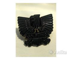 Значок для байкера Goldwing  металлический