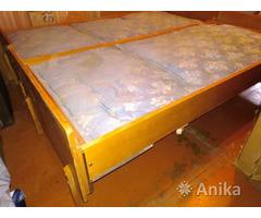 Две односпальные кровати трансформируются в одну