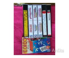 Видео кассеты с фильмами, б.у
