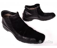 Ботинки зимние мужские AXIS, натуральная кожа