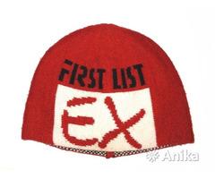Шапка спортивная шерстяная вязаная EX First List