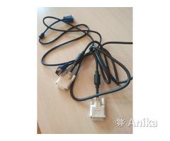 Кабель для монитора DVI VGA новый