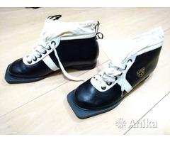 Ботинки лыжные Botas СССР Чехословакия кожаные