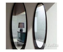 Навеска полок, зеркал, аксессуаров в ванной. Мин