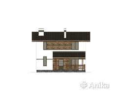 Проект дома 2 этажа, 4 спальни, недорогой
