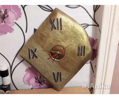 Часы настенные, кварцевые. Ручная работа