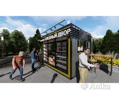 Заказать проект магазина, купить павильон кафе