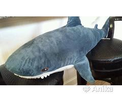 Плюшевая игрушка Акула