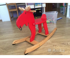 Игрушка лошадка-качалка