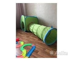 Игровой туннель с палаткой