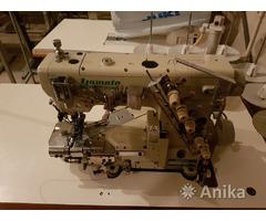 Плоскошовная швейная машинка Yamato VG-3721